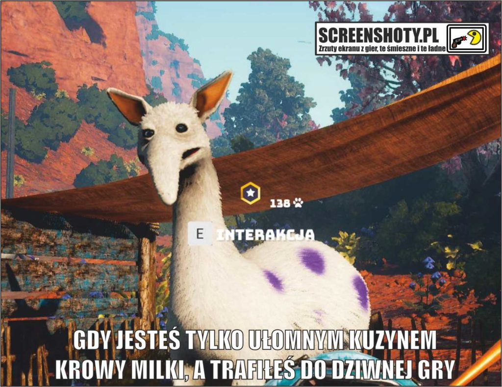 screenshoty MILKA biomutant 1