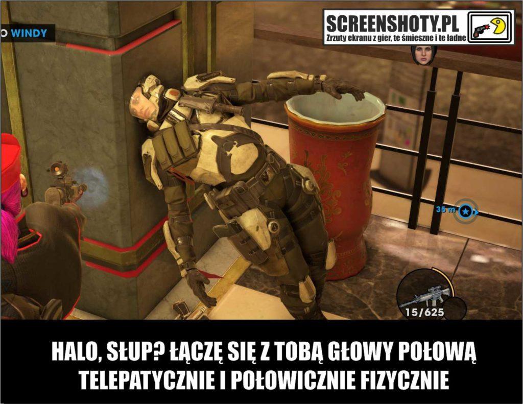 saints row glitch screenshoty pl