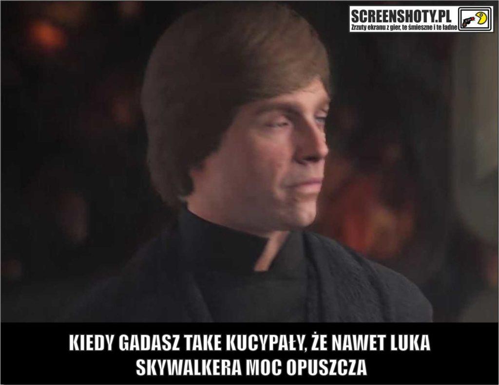 screenshoty pl glupoty skywalker star wars