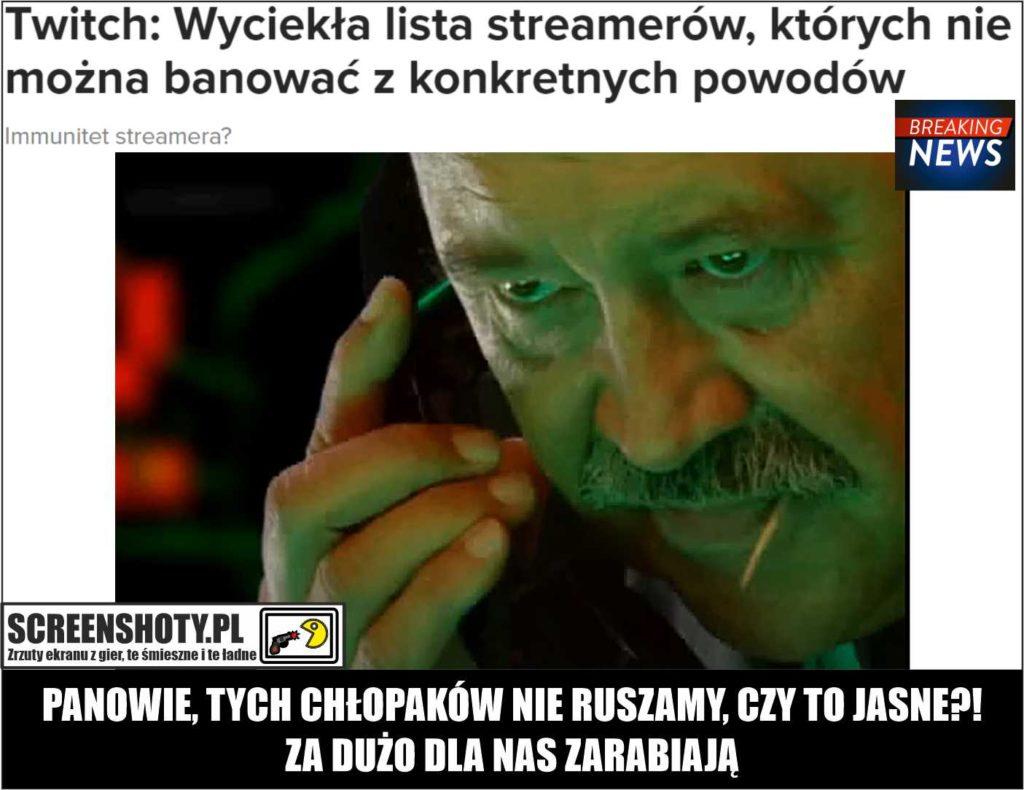 BAN TWICH screenshoty pl